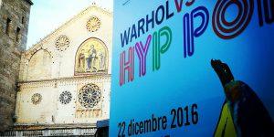 """Warhol vs Gartel. Hyp Pop"". La pop art sbarca a Spoleto e ... Radio Subasio c'è"