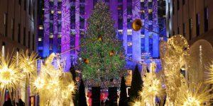 Il Natale newyorkese è finalmente partito.