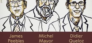 Nobel per la fisica al cosmologo Peebles e agli astronomi Mayor e Queloz