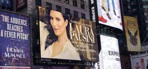 New York omaggia Laura Pausini per il Latin Grammy Awards