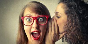 Il pettegolezzo è un'arte ... da usare con intelligenza