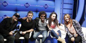 Sanremo 2018, intervista Max Pezzali, Nek, Francesco Renga