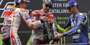 Moto GP, Lorenzo vince anche in Catalogna