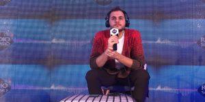 Sanremo 2018, intervista Renzo Rubino