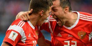 Mondiali: Russia batte Egitto 3-1 e ottavi virtualmente conquistati