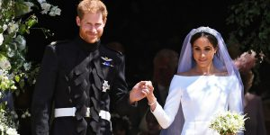 Royal Wedding: Harry a Meghan, sei meravigliosa e la favola inizia ....