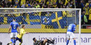 Svezia-Italia 1-0, Russia 2018 sempre più lontana!