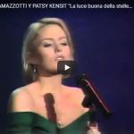 Eros Ramazzotti e Patsy Kensit - La luce buona delle stelle