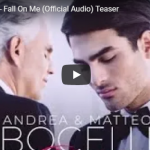 ANDREA BOCELLI / Fall on me