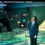 EDUARDO DE CRESCENZO / Ancora
