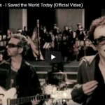EURYTHMICS - I saved the world today