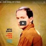 GINO PAOLI / Che cosa c'è