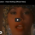 WHITNEY HOUSTON / I Have Nothing