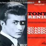 TONY RENIS / Quando Quando Quando