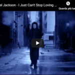 MICHAEL JACKSON / I JUST CAN'T STOP LOVING YOU