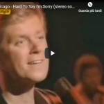 CHICAGO / Hard to say i'm sorry