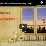 FR DAVID / Words