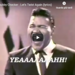 CHUBBY CHECKER / Let's twist again