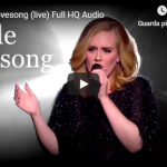 ADELE / Love song
