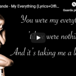 ARIANA GRANDE / MY EVERYTHING