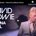 DAVID BOWIE / China girl