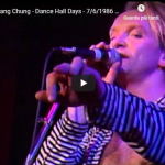 WANG CHUNG / Dance Hall Days