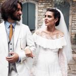 Charlotte e Dimitri, dopo il rito civile il sì in chiesa