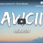 AVICII / CRIS MARTIN - Heaven