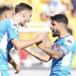 Serie A: Napoli vince a Lecce. Sampdoria e Roma ok