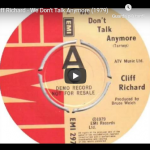 CLIFF RICHARD / We don't talk anymore