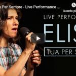 ELISA / TUA PER SEMPRE