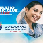 Giordana Angi a Radio Subasio … Benvenuta 'a casa' in Subasio Music Club