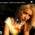 CHRISTINA  AGUILERA / Genie in a bottle