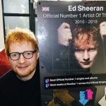 Ed Sheeran è l'artista inglese del decennio