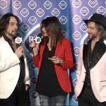 Le Vibrazioni - Intervista preFestival Sanremo 2020