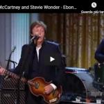 PAUL MC CARTNEY / STEVIE WONDER - Ebony and evory