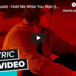 LEWIS CAPALDI / HOLD ME WHILE YOU WAIT