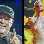 Vasco Rossi ironizza sull'abbigliamento di Achille Lauro