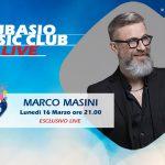A Subasio Music Club arriva Marco Masini, per festeggiare 30 anni di carriera!