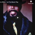 BARRY WHITE / Let The Music Play