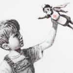 Banksy, l'ultima opera è un omaggio a medici e infermieri