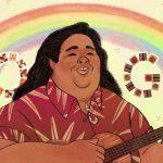 Google ricorda Israel Kamakawiwoʻole ... rese immortale Over the Raimbow