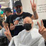 Vasco è finalmente tornato dal parrucchiere