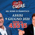Con il Cuore nel nome di Francesco: Radio Subasio media partner serata solidale