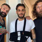 Alberto Urso si è rotto un braccio, ma come ha fatto?