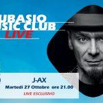 """J-Ax live a Subasio Music Club. Arriva """"lo Zio"""" tra rap e pop"""
