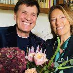 Gianni Morandi: auguri social per la moglie Anna