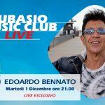 Edoardo Bennato live a Subasio Music Club. Spazio alla musica e all'ironia