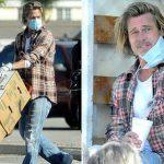 Solidarietà: a Los Angeles Brad Pitt distribuisce cibo ai poveri