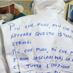 Eros Ramazzotti ringrazia il personale sanitario